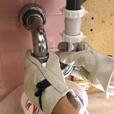 installing a bathroom faucet. Step 1 Installing A Bathroom Faucet C