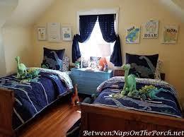 bedroom makeover dinosaur themed