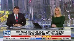 The moment Fox News projected Joe Biden ...