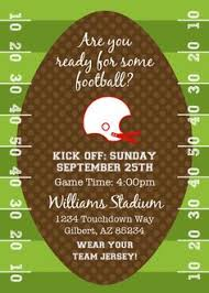 Football Invitation Template Free Football Party Printables From By Invitation Only Diy Party