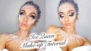 simple ice queen makeup tutorial