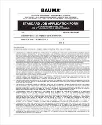 Free 6 Job Application Examples Samples In Pdf Examples