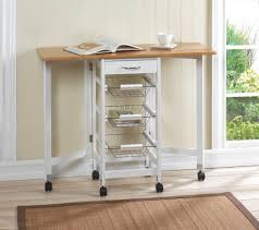 Kitchen Trolley Wholesale Extendable Kitchen Trolley With Drawer 3 Pull Out Baskets