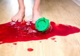 removing stubborn stains from vinyl flooring