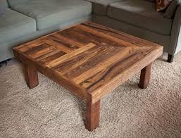 Coffee table designs diy Living Room Reclaimed Pallet Wooden Coffee Table Pallet Furniture Plans Pallet Wooden Coffee Table Design Pallet Furniture Plans