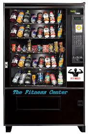 Gym Supplement Vending Machine