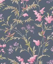 Jasmine Navy wallpaper by Albany ...