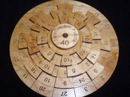 Wooden Math Games Safecracker 100 Wood Puzzle Math Puzzle Brain Teaser 45