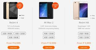 xiaomi diwali with mi offers smartphones