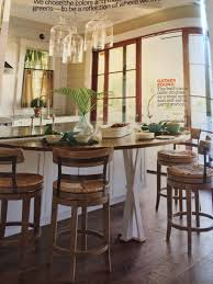 Counter Height Half Round Table Home Inspiration In 2019 Kitchen