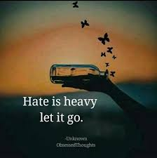 Let It Go Quotes Awesome Hate Is Heavy Let It Go Pictures Photos And Images For Facebook