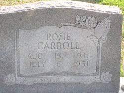 Rosie Riggs Carroll (1911-1951) - Find A Grave Memorial