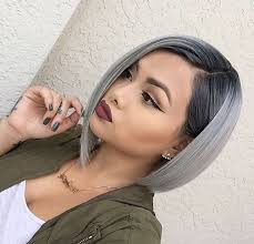Short hairstyle for gray hair with pixie cut. 20 Trendy Gray Hairstyles Gray Hair Trend Balayage Hair Designs Hairstyles Weekly