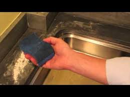 zinc countertop care cleaning