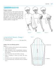 Sleeves Pattern Custom Lantern Sleeves Pattern Making For Fashion Design Learn To Make