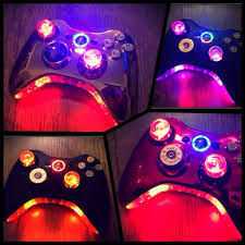 Led Light Xbox One Controller Xbox 360 Wireless Modded Led Controller 7 Steps
