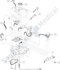 revo_ELA_console_map sc60 revo replacement parts throttle pot electronics assembly on headrest monitor wiring diagram