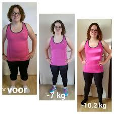 10 kg afvallen in 4 maanden