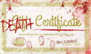 Email Gift Certificate Fright Rags