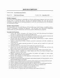 Front Desk Job Description For Resume Fresh Sample Resume For Hotel