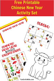 Chinese new year facts » amazing traditions you must know. Free Printable Chinese New Year Activity Set Fun Crafts Kids