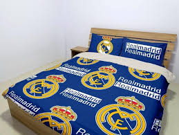 real madrid bedding real single