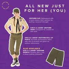 Boy Scout Switchback Pants Size Chart