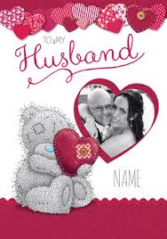 Fab Husband Personalised Valentines Card. Me to You - Love and Stitches  Husband