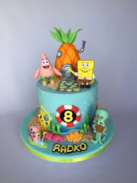 Spongebob Birthday Cake Cake By Layla A Cakesdecor
