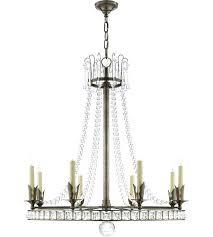 visual comfort chandelier linear