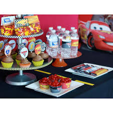 Printable Disney Inspired Cars 2 Race Car Full Birthday Collection