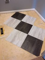 l and stick tile for a laundry room floor