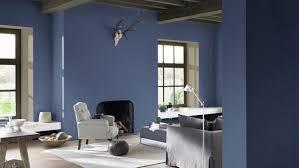 Blauw En Grijs In De Woonkamer Creëert Een Haven Van Rust Verf En