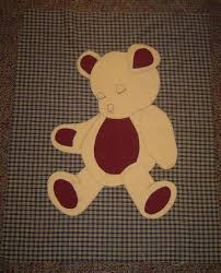 Teddy Bear Applique Designs Applique Quilt Patterns Am Posting The Free Pattern For