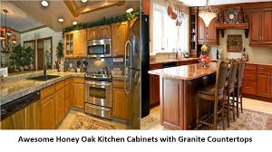 Honey Oak Kitchen Cabinets Awesome Honey Oak Kitchen Cabinets With Granite Countertops Youtube 3482 by guidejewelry.us