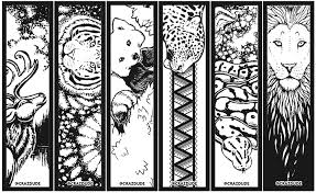 Small Picture Coloring Page Bookmarks Crazdude Art Design