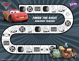 14 Best Photos Of Free Printable Cars Reward Chart