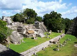 pre columbian civilizations com an ruins of the north acropolis at tikal