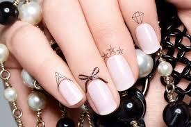 Nail Trend Tetování Pod Nehet Fashion