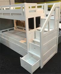 Bunk Bed Stairs Plans Bunk Beds Twin Over Full Bunk Bed With Stairs And Desk Bunk Bed