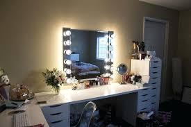 ikea kids mirror makeup vanity small bedroom mirror with lights for table as bathroom station light