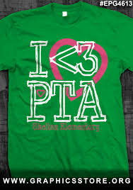 Elementary Shirt Designs Epg4613 I Love Pta T Shirt Design Pta School Pta