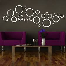 diy 3d circle stickers mirror wall stickers on the toilet bar home decor acrylic mirrored decorative sticker wall mirror in wall stickers from home garden  on diy 3d mirror wall art with diy 3d circle stickers mirror wall stickers on the toilet bar home