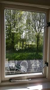 Passende Fensterdeko Für Den Sommer Mit Abwaschbaren Stiften Das