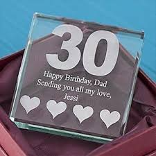 celebrate with a touch of gl a gift for a 30th birthday30th