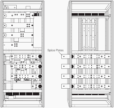 switchboard construction basics for engineers eep home electrical wiring diagram software rear view drawing slice plates