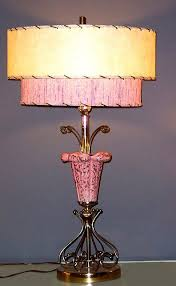 fifties style lighting. 50\u0027s lamp shades - google search these were fugly then, and still now. fifties style lighting