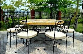 large size of marble top outdoor table nz reviews garden and chairs patio round mosaic stone