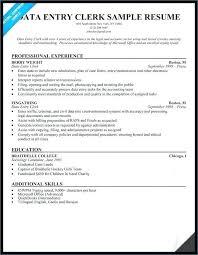 File Clerk Resume Sample Bodyarch Co