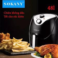 Nồi chiên không dầu SOKANY HB-8009 4,8L- BẢO HÀNH 12 THÁNG, Nồi chiên SOKANY